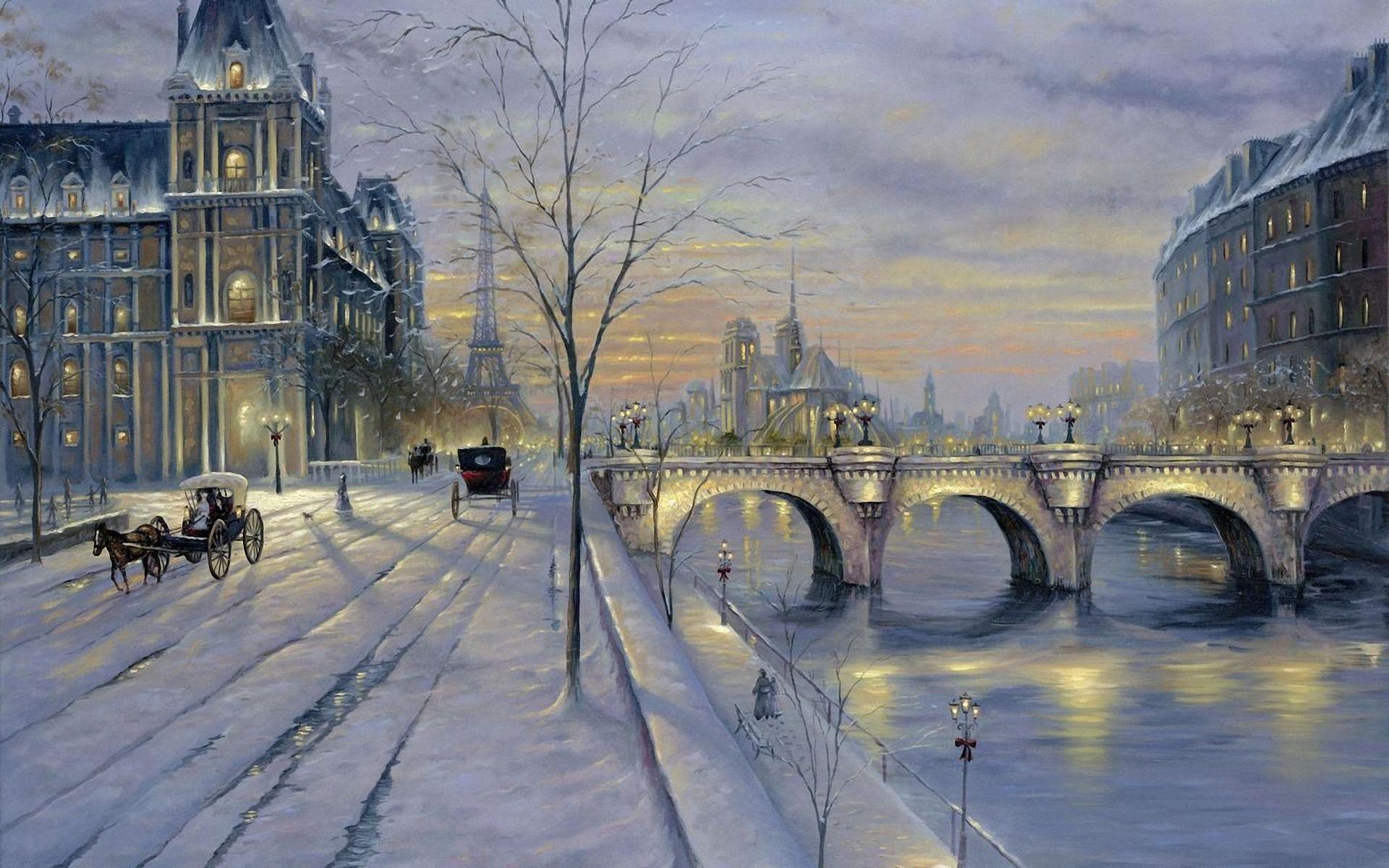 السياحة في باريس في الشتاء