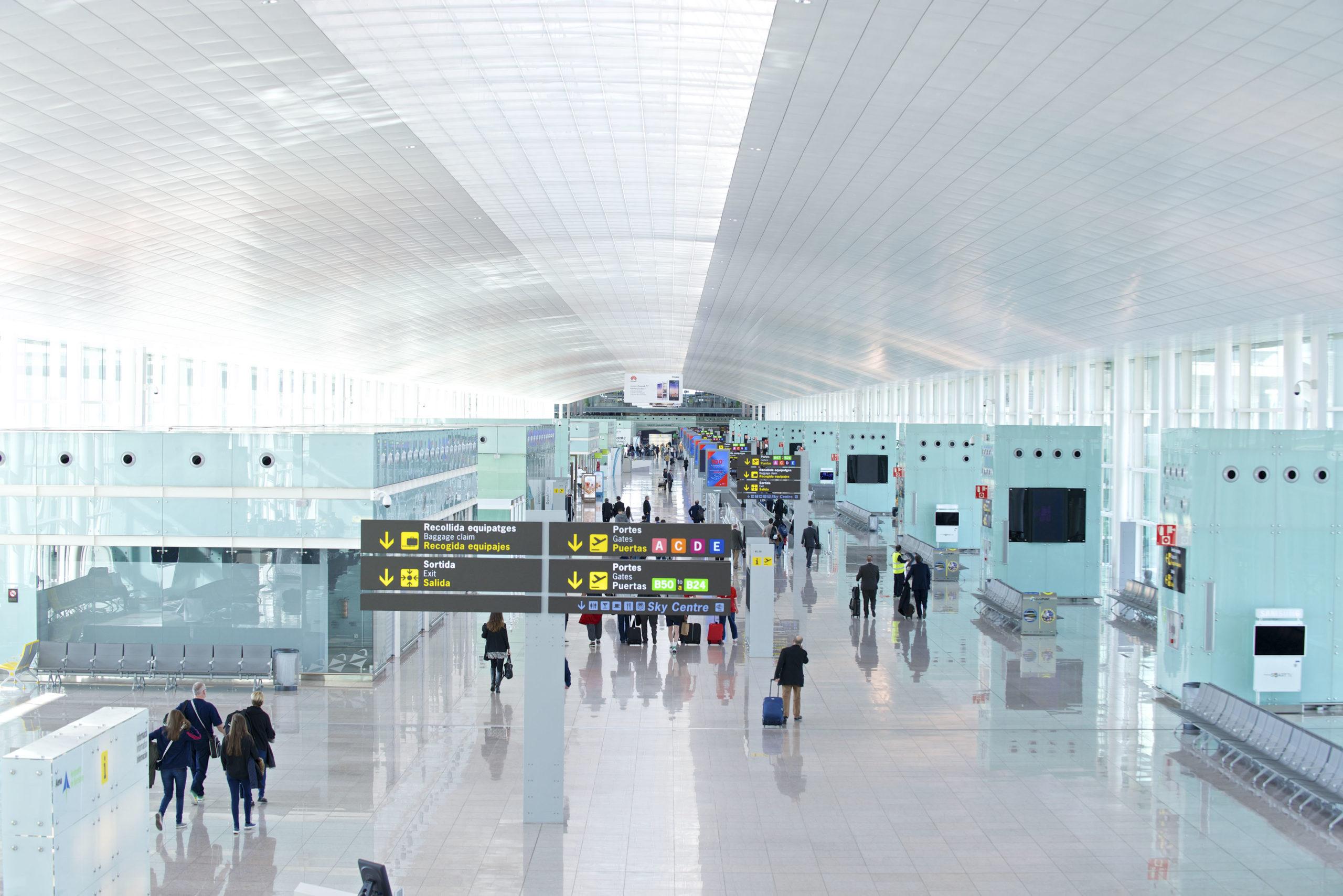 hلانتقال من المطار الى برشلونة