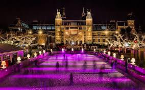 امستردام في الشتاء هولندا في الشتاء السياحة الشتوية في هولندا