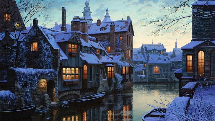 براغ في الشتاء السفر و السياحة في براغ في الشتاء